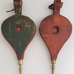 Two 19th Century Decorated Bellows