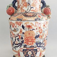 242-4800 Imari Vase Lamp A