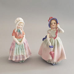 7-2735 Royal doulton Figurines A