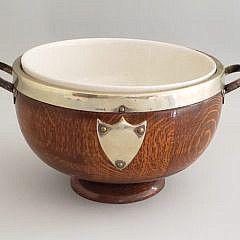 148-4621 Edwardian Oak Bowl A