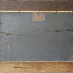 "George Frederick Morse Oil on Artist Board ""Rocky Coastline"""
