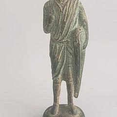 120-2147 Medieval Bronze Figure A