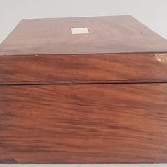 Mahogany and Cedar Lined Inlaid Humidor