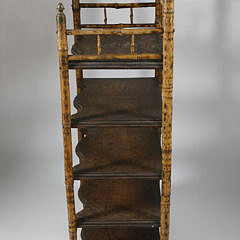 Bamboo Sheet Music Stand, 19th Century