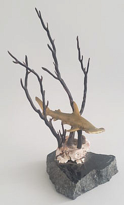 16-4475 Shark Sculpture A