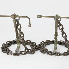Pair of Maitland-Smith Bronze Bookends