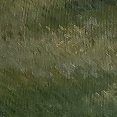 "Victoria Cromartie Harvey Oil on Canvas, ""Sconset Cottage"", Nantucket"