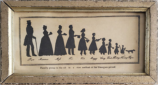2409-955 Family Silhouette A