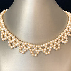 299-4800 Seed Pearl Necklace A IMG_6422