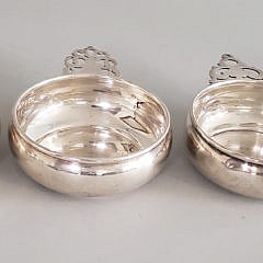 Four Assorted Sterling Silver Porringers