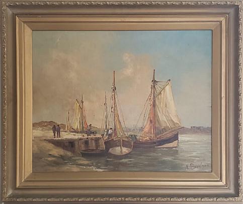 37-3709 Bodson Oil Painting A