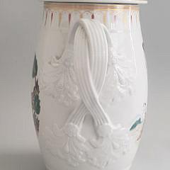 Mottehedeh Export Style Porcelain Covered Cider Jug
