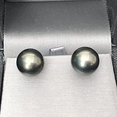 40070 Tahitian Pearl Earrings A IMG_6333