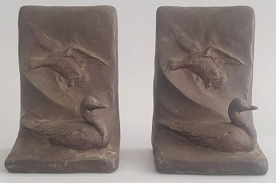 40631 Duck Bookends A