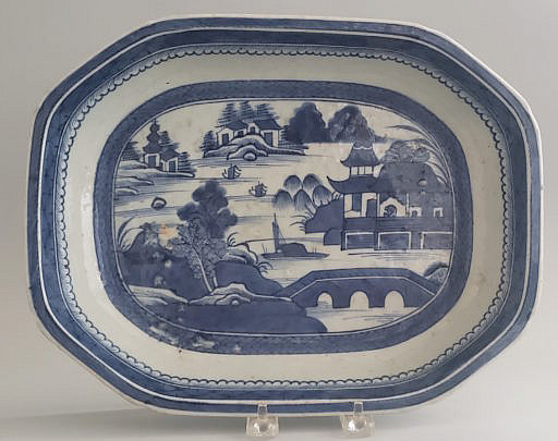 43-4461 Canton Deep Platter A