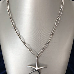 48-4419 Tiffany Co Elsa Peretti Starfish Necklace A IMG_6498