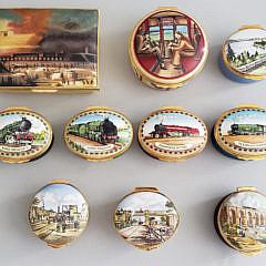 70-4847 Railroad Enamel Boxes AA