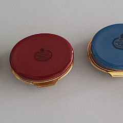 Collection of 10 Halcyon Days and Crummles Enameled Railroad Anniversary Boxes