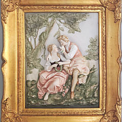 79-2998 Bisque Courting Couple A
