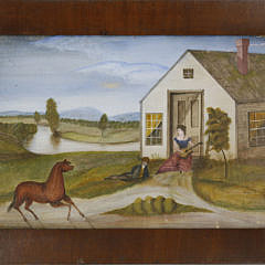 8-1374 Folk Art Landscape A_MG_0346