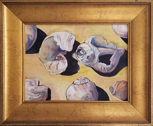 83-2998 Robert Frazier Shell Painting A