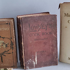 Collection of Antique and Vintage Cookbooks