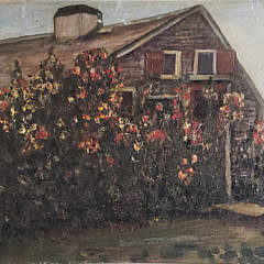 3-2376 Cottage Oil Painting A