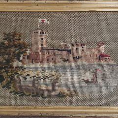 2408-955 Castle Embroidery A