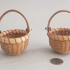 4-4599 Henry Huyser Miniature Baskets A
