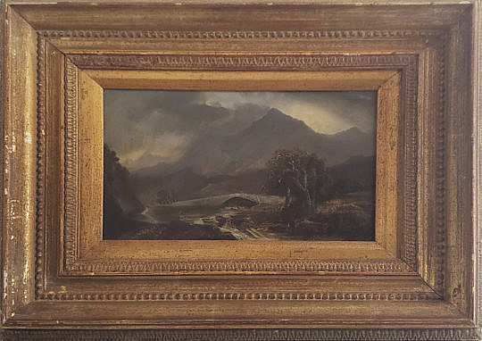 2-2730 Hudson River School Oil Painting A