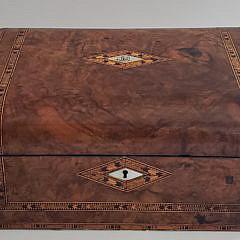 10-3887 Multiwood Inlaid Box A