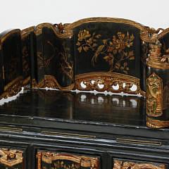 Chinese Gilt Decorated Shrine Table, circa 1870