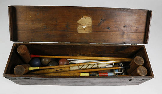 10-4810 Antique Boxed Croquet Set A_MG_0744