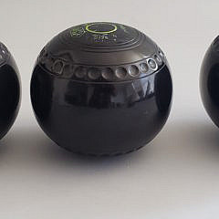Three Thomas Taylor Lignoid Nantucket Lawn Balls