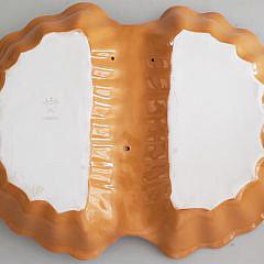 Limoges Porcelain Lobster Form Serving Dish