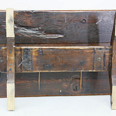Ship's Hatch Cover Converted to Cocktail Table, 19th century