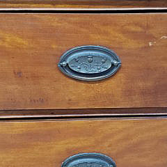 American Chippendale Cherry and Birch Chest of Drawers, early 19th Century