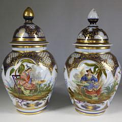 133-4621 Pair Vieux Paris Covered Jars A_MG_1583