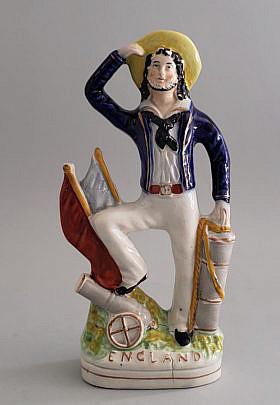 145-4621 Staffordshire Sailor A