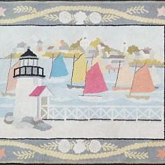 1592-54 Claire Murray Rug Rainbow Fleet A
