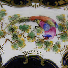 Set of 6 Royal Worcester Plates Signed G. Johnson, 19th Century