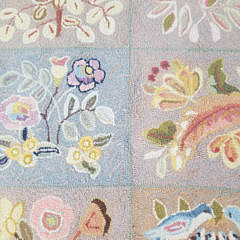 Claire Murray Spring Bouquet Floral Album Hooked Rug