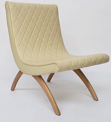 18-3887 Mid Century Modern Chair A