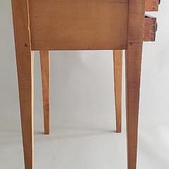 American Hepplewhite Two Drawer Work Stand, 19th Century