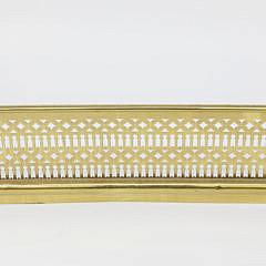 21232 Pierced Brass Fireplace Fender A_MG_0789