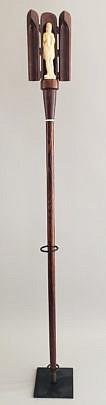 214-4621 Figural Walking Stick A