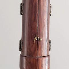 19th Century Rosewood Encased Figural Walking Stick