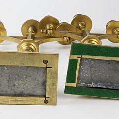 Pair of Wedgwood Jasperware and Gilt Bronze Three Light Candelabra, 3rd quarter of the 19th Century