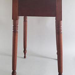 19th Century American Sheraton One Drawer Work Stand
