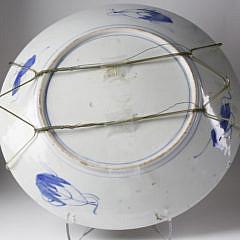 Japanese Imari Porcelain Charger, late 19th Century